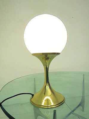 INGO MAURER ML TR 4 in BRASS TABLE LAMP DESIGN M 60s 70s SPACE AGE