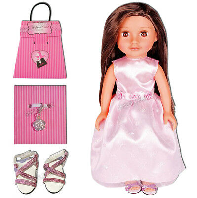 Chad Valley Design-a-Friend My Little Sister Bridesmaid Dress Outfit Shoes Charm