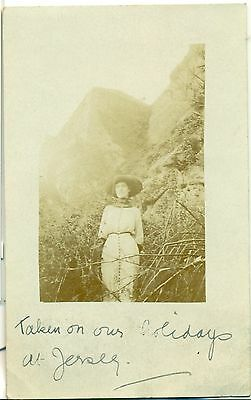 POSTCARD  CHANNEL ISLANDS  Jersey On Holiday 1912