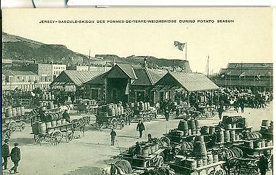 POSTCARD  CHANNEL ISLANDS  Jersey Weighbridge