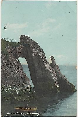 POSTCARD  TORQUAY  Natural Arch