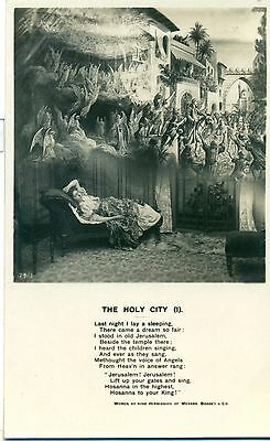 POSTCARD  SONG CARDS The Holy City (1)