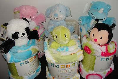"""New Little Miracles Sherpa Blanket 30"""" X 45"""" And Plush Toy Nib With Tags"""