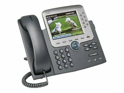Cisco Unified IP Phone 7975G 7975 Gig Ethernet Color CP-7975G= The demonstrates