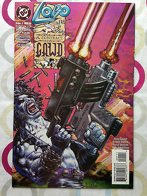 Lobo A Contract on Gawd #1 | NM | 1st Print | DC Comics
