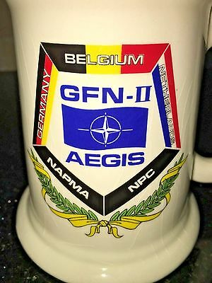 Howard HUGHES AIRCRAFT GERMANY BELGIUM NETHERLANDS AEGIS E-3 NATO mug