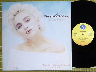 "Madonna, The Look Of Love, 12"" Ep 1987 Uk 1St Press A//1 B//1 Nm/vg+"