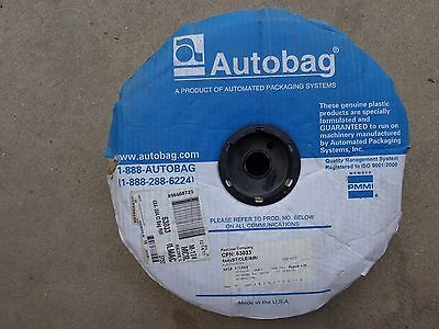 """Roll 3,750 4"""" X 4"""" Automated Packaging System Air Pillows-(Not Filled)"""