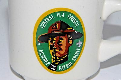 BSA BOY SCOUT Central Florida Council DESEREE 1986 Patrol Spirit mug