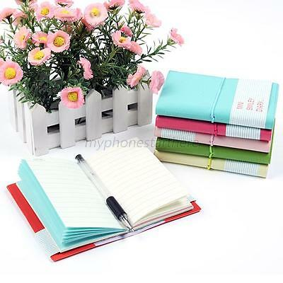 Portable Cute Diary Notebook Journal Memo Lovely Smile Smiley Paper Note Mini