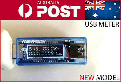 USB Charger Doctor Tester Meter Detector OLED Voltage Current AUPOST