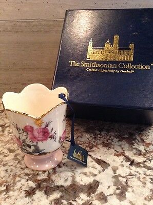 NWT Goebel for the Smithsonian Rose Cup in Gift Box - NOS