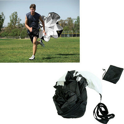 56'' Running Chute Speed Training Resistance Parachute DRILL SPRINT FITNESS