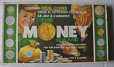 THE MONEY GAME vintage Board Game COPP CLARK / CADACO 1970s Complete