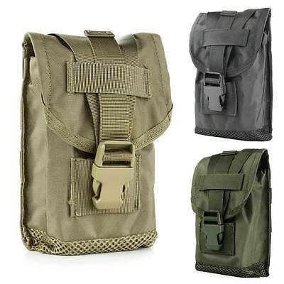 Outdoor Tactical Military Molle Hiking Camping Hanging Bag Pouch Case Organizer