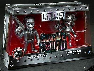 "Suicide Squad-Harley Quinn & Joker US Exclusive 4"" Bare Metal 2 Pack"