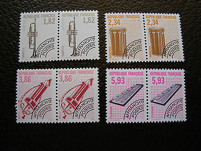 FRANCE - timbre yvert et tellier preoblitere n° 228 a 231 x2 n** (A24) stamp (A)