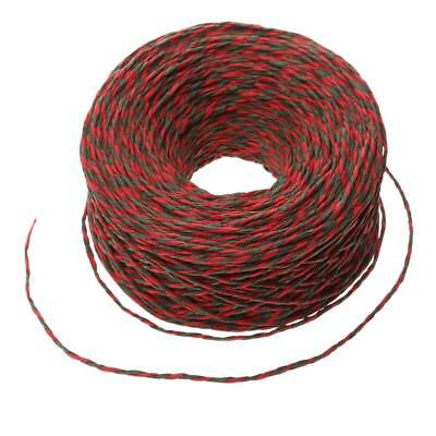 100M Paper String Decorative Twine Christmas DIY Gift Wrap Craft Red Green