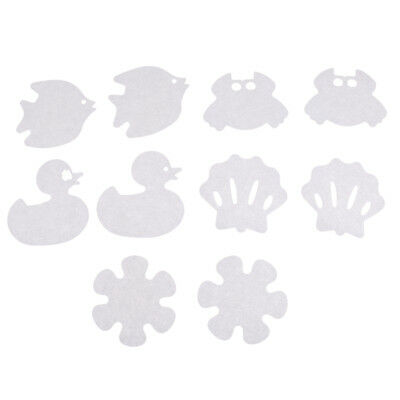 Bath Tub Non-slip Appliques Cartoon Decals Treads Anti Skid Shower Stickers