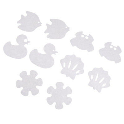 10Pcs Cartoon Baby Safety Bathtub Treads Non Slip Anti-Skid Shower Stickers