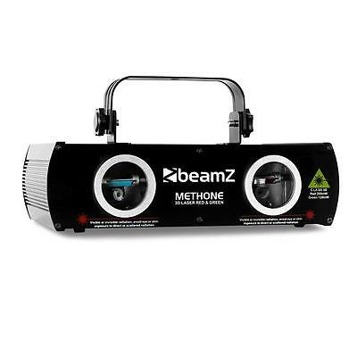 Beamz Methone 3D Laser Light Dmx Red Green