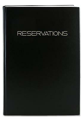 Reservation Book For Restaurant Dinner Table Log Book Professional Grade Entries