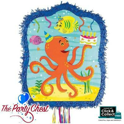 OCEAN BUDDIES Character Pull String Pinata Birthday Party Game Decoration P33540