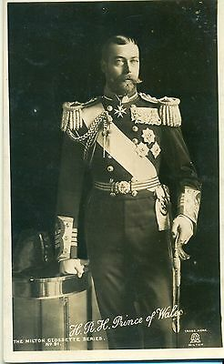 POSTCARD ROYALTY Prince of Wales