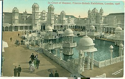 POSTCARD EXHIBITIONS Franco British 1908 Court of Honour