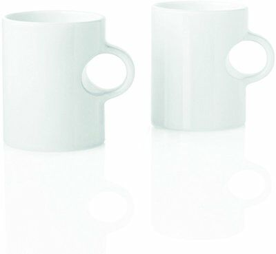 Stelton 3 cl 2-Piece Circle Mug, White