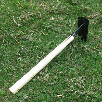 Wooden Handle Steel Small Triangle Hoe Gardening Tool