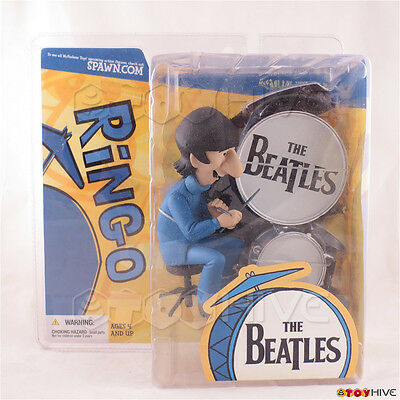The Beatles - Ringo Starr Drums set Cartoon series figure 2004 by McFarlane Toys