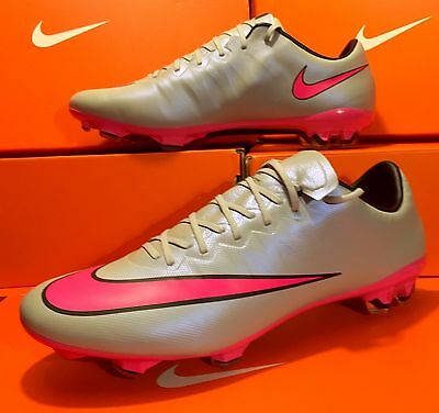 best loved cb633 99eaa ... promo code for nike mercurial vapor x fg soccer cleats grey pink size 8  12 50