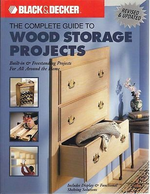 Woodworking Build Storage Projects