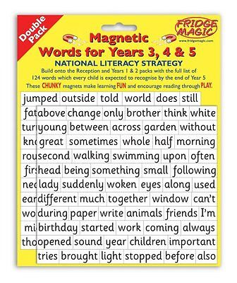 National Literacy Strategy Magnetic Words for Years 3,4&5 DOUBLE PACK Key Stage