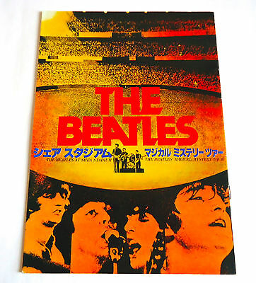 THE BEATLES At Shea Stadium & Magical Mystery Tour JAPAN MOVIE PROGRAM BOOK 1977