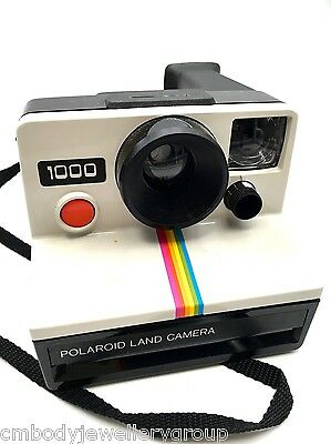 Polaroid Land Camera with Red button, Using SX-70 Film