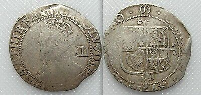 Collectable 1625-49 King Charles I Hammered Silver Shilling