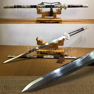 Traditional Chinese Sword Handmade Folded Steel Tang Dynasty Sword Tang Dao 诸刃唐刀