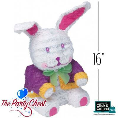 "16"" BUNNY RABBIT Animal Alice in Wonderland Pinata Party Game Decoration P12912"