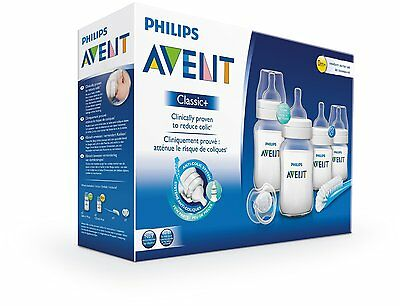 Philips AVENT SCD371/00 Classic Newborn Bottle Kit + Transparent
