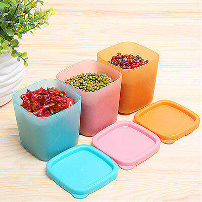Multifunction Container Food Seal Box Kitchen Snacks Refrigerated Plastic
