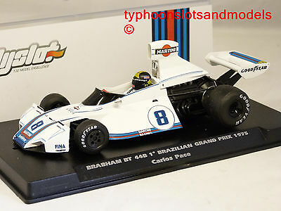 F062102 Fly Brabham BT44B - 1st Brazilian GP 1975 - Carlos Pace - New & Boxed