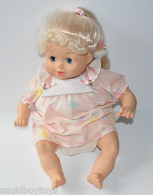 "vintage 17"" tall PLAYMATES BABY DOLL 1988 Clean Doll - rj"
