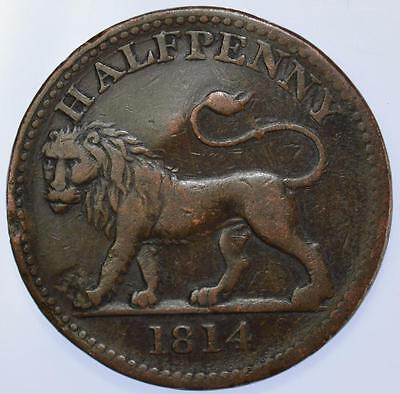 Essex 1814 Walthamstow. British Copper Company Lion Withers #615 RR