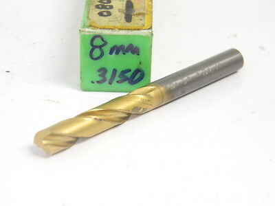 MA FORD 8MM SOLID CARBIDE DRILL 22460