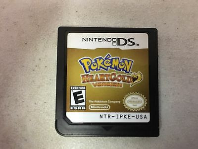 Pokemon Heartgold Heart Gold Version Nintendo Ds Game Chip Only Nes Hq