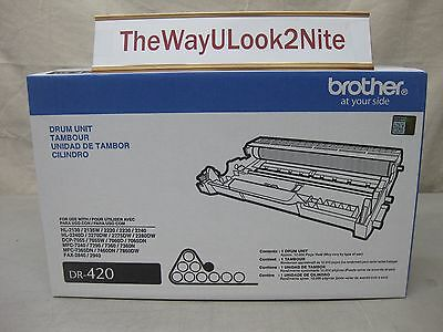 Brother Fax Drum Unit DR-420 New Genuine Factory Sealed Mint Box