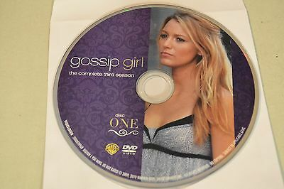 Gossip Girl Third Season 3 Disc 1 Replacement DVD Disc Only *