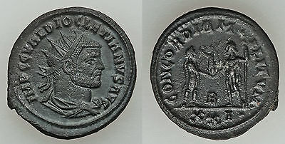 Ancient Rome Diocletian AD 284-305 AE antoniani #3